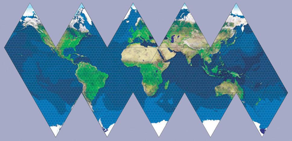 Geomorph gurps mega dungeon icosahedral world map using horizontal hex grid sciox Gallery