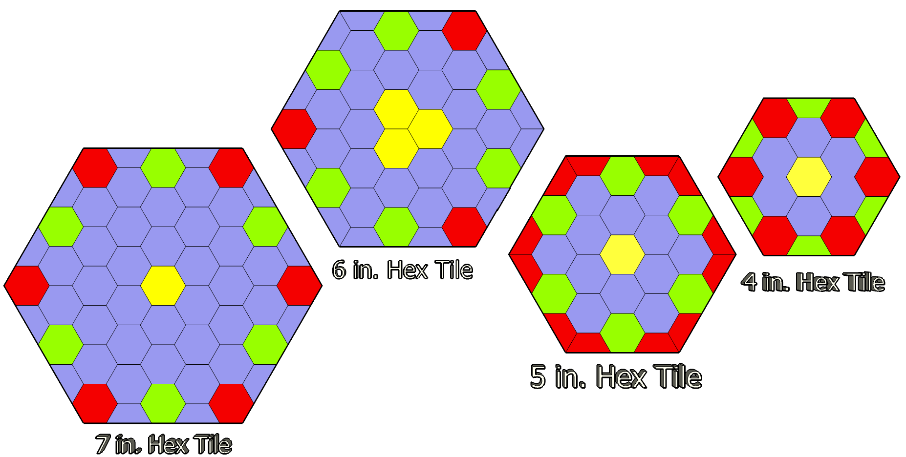 My Thoughts on 7″ Hex Battle Tiles | GURPS Mega Dungeon